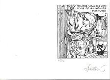 WALTHERY EX-LIBRIS SERIGRAPHIE A 20  EXEMPLAIRES N/S CARTE DE VOEUX 2000
