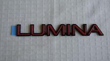 "NEW OEM Red Chevy ""LUMINA"" Euro Nameplate Emblem Badge 10176711"