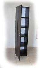 Budget 400mm Walnut Narrow 4 Shelf Wardrobe/Pantry - BRAND NEW