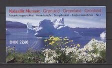 Königin - Dänemark, Grönland - Markenheft/Booklet Nr.1 ** MNH 1989