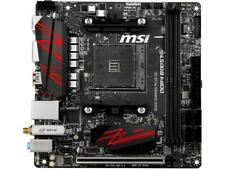 MSI B450I GAMING PLUS AC AM4 AMD B450 SATA 6Gb/s USB 3.1 HDMI Mini ITX AMD Mothe