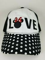 Disney Minnie Mouse Love Women's Embroidered Baseball Cap/Hat Adjustable NWT