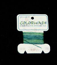 Glissen Gloss-Colorwash Hand Painted-Japanese Silk 12 Ply- 6 Yards - Japan - 518