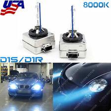 Blue 8000K D1S D1R HID Xenon Headlight For BMW M5 E92 E93 328i 335i E60 535i 550
