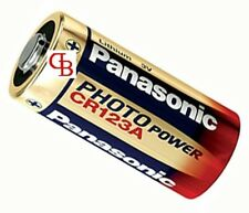 Panasonic pile lithium appareil photo 3V CR123 Qté 5 pcs