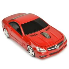 Mercedes SL550 2.4GHz Wireless Optical Scroll Mouse w/Nano USB Receiver (Red)