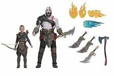 God of War 2018 Kratos & Atreus 2-Pack 7″ Scale Ultimate Action Figure by NECA