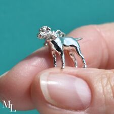 Sterling Silver Border Terrier Jewellery Charm