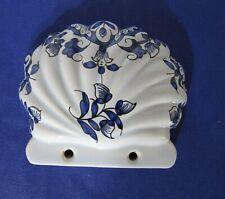Porte savon porcelaine / vieux Rouen peint à la main