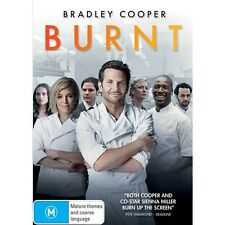 BURNT-Bradley Cooper, Sienna Miller-Region 4-New AND Sealed