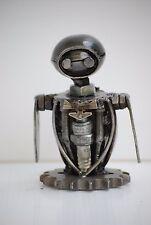 Mini Robot Scrap Metal Sculpture Handmade Gift For Boy Friend Gift For Husband