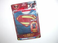 NWT NEW Halloween Costume Men's Adult Superman Character Kit One Size 14+