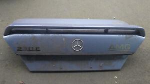 Heckspoiler, Spoiler Heckklappe, Mercedes W124 Limo