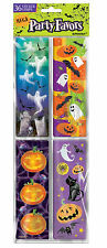 36 x HALLOWEEN Stickers FAVOURS / Trick or Treat Gifts Loot Fillers  FREE P&P