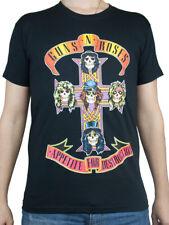 T-shirt GUNS N' ROSES Maglia Rock Band Registrata e Approvata Music Maglietta