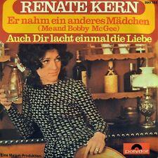 "7"" RENATE KERN Er nahm ein anderes Mädchen JANIS JOPLIN Me And Bobby McGee 1971"
