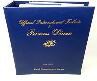 Princess Diana Postal Commemorative Society Stamp International Tribute Official