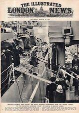 1946 London News March 30 - Princess Elizabeth visits Ireland; Bikini Evacuated;