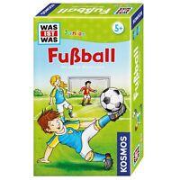 KOSMOS Familienspiele Was ist was Junior Fußball Fußballquiz Quiz Spiel 711207