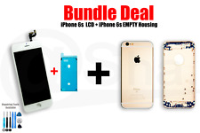 BUNDEL DEAL- iPhone 6s LCD Screen (white) And Empty Housing (gold)