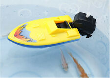 Summer Outdoor Pool Ship Toy Wind Up Swimming Motorboat Boat Toy For Childre Fc