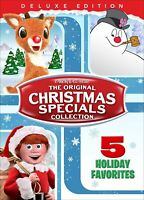 New The Original Christmas Specials Collection DVD Rudolph Frosty Santa Claus