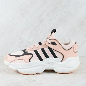 Womens Adidas Magmur Pink/White/Black Trainers (TGF56) RRP £89.99