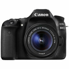 Canon EOS 80D 24.2MP Digital SLR Camera Kit w/ EF-S 18-55mm Lens UK DISPATCH