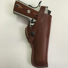 "Fits Colt 1911 5"",Springfield,RIA,Ruger,Kimber 45ACP Right Hand Leather Hlster"