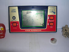 LUDOTRONIC football LCD LSI HANDHELD TABLETOP GAKKEN GAME&WATCH Morioka Tokei