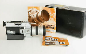 Canon Auto Zoom 814  Super 8 Movie Camera, Tested and WORKING GREAT