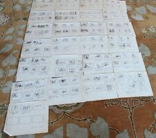 Mr. Magoo Model Sheets Original Storyboards Script Set Used Sketches Drawing 1