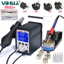 YIHUA 995D+ BGA Rework Soldering Station Repair Welding Solder Iron Hot Air Gun