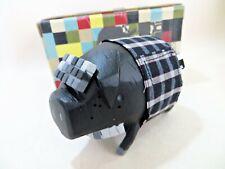 MICHAEL LAU 'CRAZYSMILES CRAZYCHILDERN - THE PIG. PERFECT. BLACK.