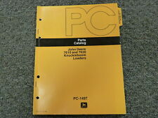 John Deere 7610 & 7620 Knuckleboom Loader Parts Catalog Manual Book PC1497