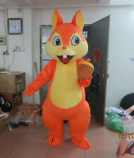 【Top Sale】Hot Squirrel Mascot Costume Adult Size Halloween Party Dress Fast Gift