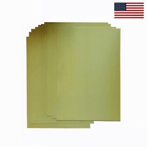 """12 sheet pack w/ Kevlar ballistic bulletproof fabric 10x12"""" - NIJ IIIA capable"""