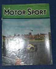 November Motorsport Monthly Sports Magazines
