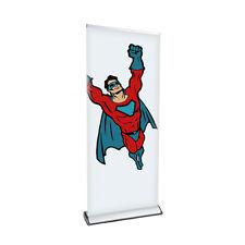 Rollup-Display mit Druck, Banner Display 85x200cm mit Druck +Tragetasche Comfort