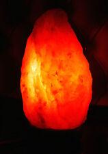 HIMALAYAN PINK SALT ROCK CRYSTAL LAMP 3-5KG NATURAL HEALING IONIZING ROCK SALT
