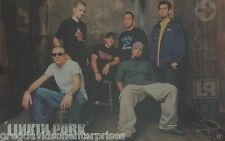 Linkin Park 23x35 Group Poster 2002 LP
