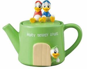 Disney Huey Dewey Loei Teapot 350ml Green Halloween Christmas gifts Japan