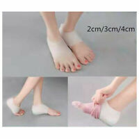Silicone height increase socks heel gel lift insoles Invisible shoe insole Tool