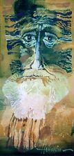 """El leshy/pintura al óleo originales por Sergej hahonin/25x12cm/9.8""""x4.7"""""""