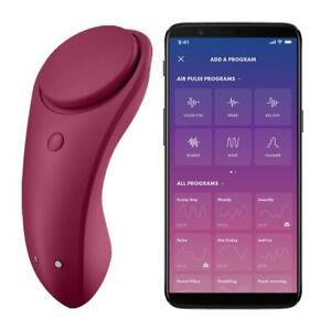 Satisfyer Sexy Secret Panty Vibrator Smart App Control Clit Vibe Silent Sex Toy