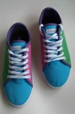 CIRCA Shoes UK 8 Skate trainers skateboard Graffiti NEW pink blue green purple