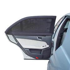 2x Auto Sonnenschutz Netz Sonnenrollo für Seitenfenster Sonnenblende Heckscheibe