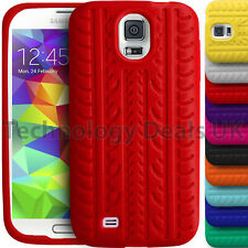 Soft Silicone Case Tyre Tread Gel Rubber Grip Cover For Samsung Galaxy S3 S5