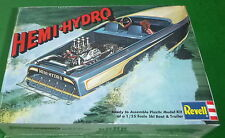REVELL HEMI HYDRO SKI BOAT w/trailer 1/25 Model Car Mountain KIT FS SSP