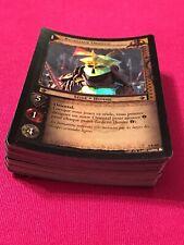 Lord Of The Rings 50+ FOIL Card Lot (4C & 4U 4R) NON ENGLISH LotR TCG M/NM
